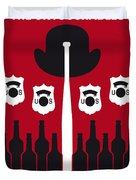 No463 My The Untouchables Minimal Movie Poster Duvet Cover