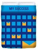 No464 My The Secret Succes Minimal Movie Poster Duvet Cover