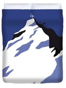 No492 My Everest Minimal Movie Poster Duvet Cover
