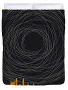 No568 My The Theory Of Everything Minimal Movie Poster Duvet Cover
