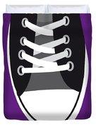 No610 My Footloose Minimal Movie Poster Duvet Cover