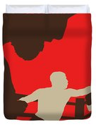 No723 My Southpaw Minimal Movie Poster Duvet Cover