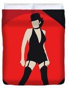 No742 My Cabaret Minimal Movie Poster Duvet Cover