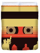 No812 My Guardians Of The Galaxy Minimal Movie Poster Duvet Cover