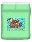 Noahs Ark Two Duvet Cover