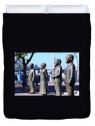 Nobel Square  /  To Honor South Africa's Four Nobel Peace Prize Laureates Duvet Cover