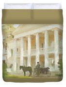 Noble Mansion Of The 19th Century In Russia Duvet Cover