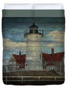 Nobska Lighthouse 2 Duvet Cover