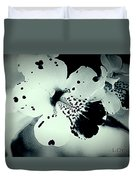 Nocturnal Pansies  Duvet Cover