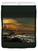Nocturnal Tranquility Duvet Cover by Lourry Legarde