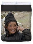 Nomads Of Ladakh Duvet Cover