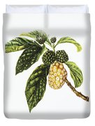 Noni Fruit Art Duvet Cover
