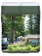 Nooksack City Park Duvet Cover
