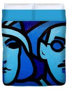Nora Barnacle And James Joyce Duvet Cover
