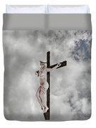Nordic Female Jesus Duvet Cover