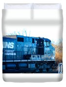 Norfolk Southern Engine 9720 Duvet Cover