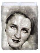 Norma Shearer, Actress Duvet Cover
