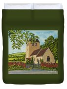 Norman Church In Fingest Duvet Cover