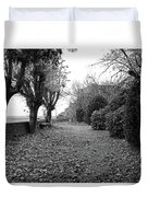 Normandy Black And White Duvet Cover