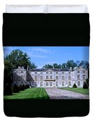 Normandy Manor House Duvet Cover