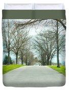 Norristown Farm Park Over The Rise Duvet Cover