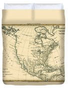 North America Duvet Cover