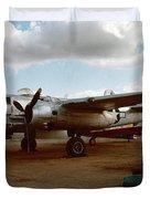 North American B-25 Mitchell Duvet Cover