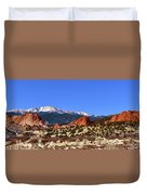 North And South Gateway Rock Duvet Cover
