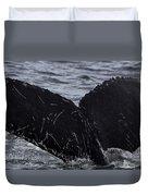 North Atlantic Humpback Duvet Cover
