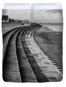 North Beach, Heacham, Norfolk, England Duvet Cover