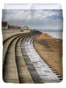 North Beach Heacham Norfolk Duvet Cover