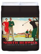 North Berwick, A London And North Eastern Railway Vintage Advertising Poster Duvet Cover