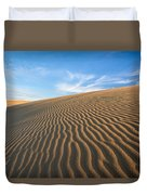 North Carolina Jockey's Ridge State Park Sand Dunes Duvet Cover
