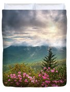 North Carolina Spring Flowers Blue Ridge Parkway Scenic Landscape Asheville Nc Duvet Cover