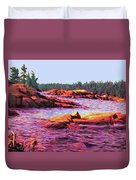 North Channel Islands Duvet Cover