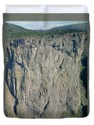 210363-north Chasm View Wall  Duvet Cover