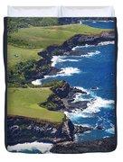 North Coast Of Maui Duvet Cover