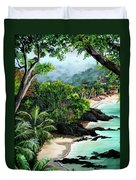 North Coast Tobago Duvet Cover