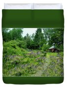 North Country Nod To Monet Duvet Cover