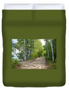 North Country Trail In Pictured Rocks National Lakeshore-michigan  Duvet Cover