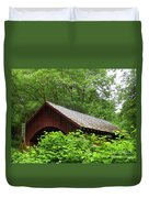 North Fork Yachats Bridge 1 Duvet Cover by Methune Hively
