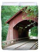 North Fork Yachats Bridge 2 Duvet Cover