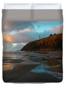 North Head Light Reflections Duvet Cover