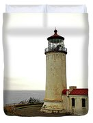 North Head Lighthouse - Graveyard Of The Pacific - Ilwaco Wa Duvet Cover