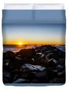 North Jetty Duvet Cover