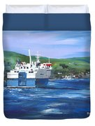North Link - Stromness Duvet Cover