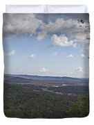 North Mountain Overlook  Duvet Cover