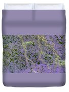 North Of Alaska From Space Duvet Cover