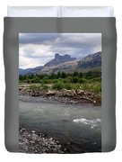 North Of Dubois Wy Duvet Cover