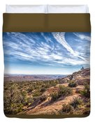 North Of Moab Duvet Cover